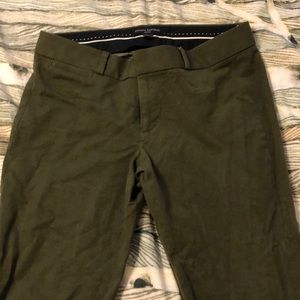 Banana Republic- olive green pants
